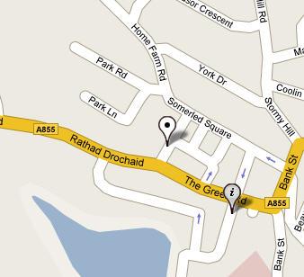 Plano de acceso de Portree Hotel