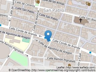 Plano de acceso de Hotel Hesperia Zaragoza