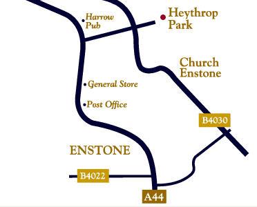 Plano de acceso de Heythrop Park Hotel