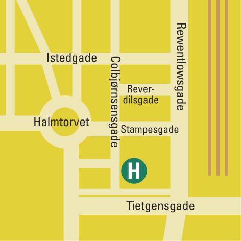 Plano de acceso de Hotel Ansgar
