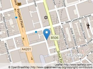 Plano de acceso de Hotel Astor Court