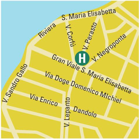 Plano de acceso de Hotel Le Boulevard