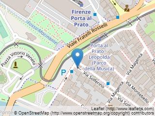 Plano de acceso de Starhotels Michelangelo