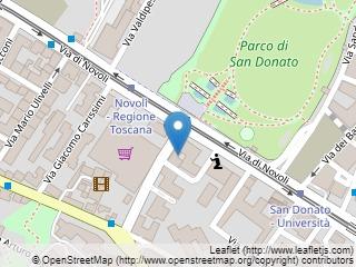 Plano de acceso de Starhotels Tuscany