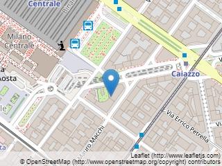 Plano de acceso de Starhotels Echo