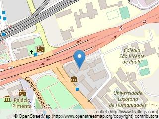 Plano de acceso de Hotel Radisson Blu Lisbon