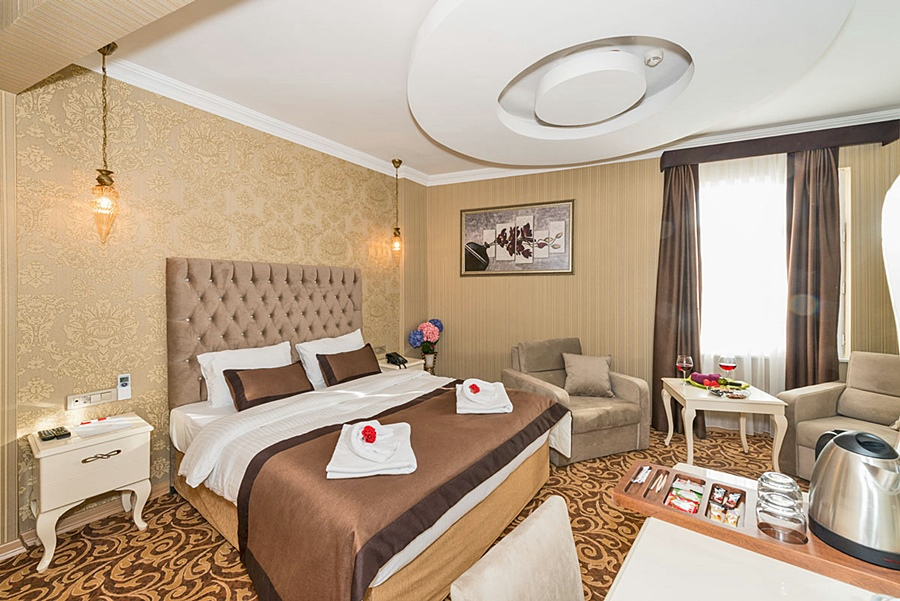 Montagna hera hotel en estambul desde 533 trabber hoteles for Ottopera hotel